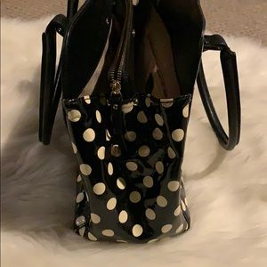 kate spade Bags - Kate spade polka dot satchel